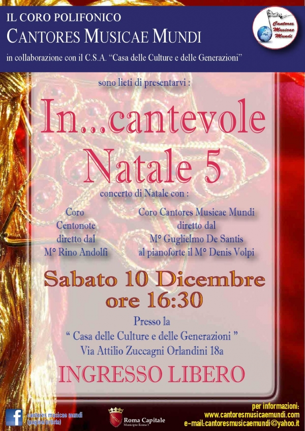 In...Cantevole Natale